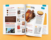 Food Network Magazine Layouts