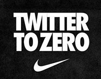 Nike - Twitter to zero