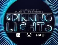 Spinning Lights (Eye Film Institute Installation)