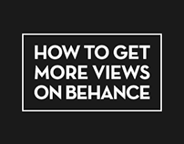 How To Get More Views On Behance