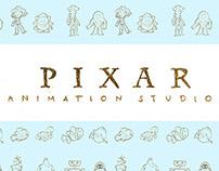 Pixar Studios (Unofficial) Adobe Flash Project