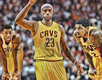 Kyrie Irving,Lebron James,And Andrew Wiggins Cavs Swap