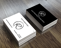Event Planning Business Card