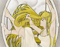 """Art Nouveau Series """"Pearls"""""""
