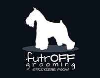 FutrOFF Grooming corporate identity