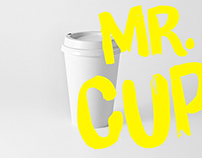 MR. CUP. Branding
