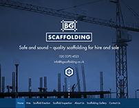 Scaffolding Company - Web Design
