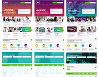 Design of CIPD International sites