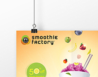 Smoothie Factory Poster