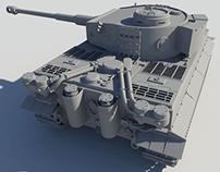 Panzerkampfwagen VI «Tiger I» (1)