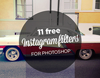 FREEBIE: FREE ACTION FOR PHOTOSHOP INSTAGRAM FILTERS