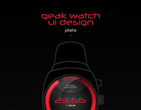 Geak Watch UI Design