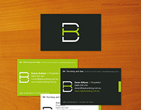 Business Card: BK Plumbing