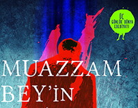 Muazzam Bey - Book Teaser & Book Cover Design