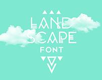 LANDSCAPE Free Font
