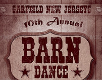 Barn Dance Flyer Template