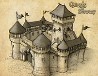 Quests & Sorcery mobile game