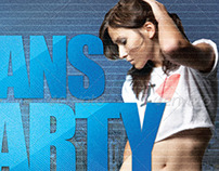 Jeans Party Flyer Template