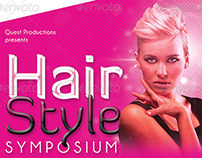 Hair Styles Networking Show Flyer Template