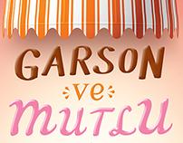 Garson ve Mutlu / Book Cover & Book Teaser