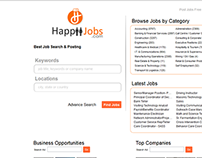 Happiijobs (Job portal Website )