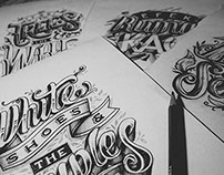 "Lettering Vol.1 - ""My Playlist"""