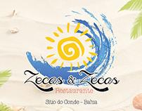Criação de Marca - Restaurante Zecas & Zecas