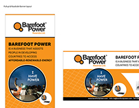 Barefoot Power Banners