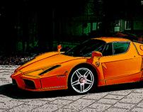 Not Ferrari Red.