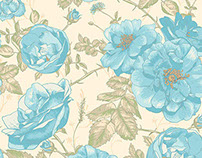 Beautiful Vintage Roses Background