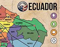 Peace Corps Ecuador Board Game