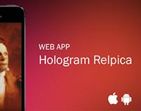 WEB APP Hologram Replica