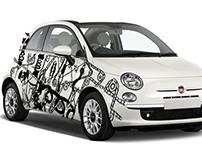 Illustration - Fiat 500 Contest