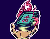Satan Power Sticker (1)