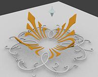 "3D rendered models of Portuguese Tiles - ""Azulejos"""