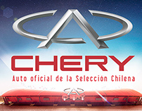 Activación Chery - Chile vs Uruguay