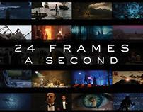 24 Frames a second - Book Cover