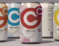 C&C Beverages Branding