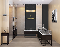 "Jewelry boutique ""buzzard"" in Moscow"