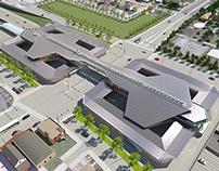 CTA Multi-Modal Transportation Station