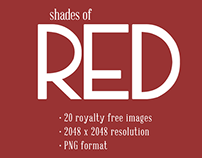 #PackADay - 7/13/14 - Shades of Red Backgrounds