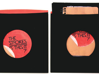"CD Packaging for The Strokes album ""Is this it?"""