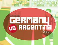 Germany Vs Argentina.