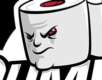 Toilet Paper Mascot