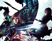 Video Game Cover Design / Final Fantasy