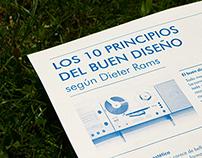 Los 10 Principios del buen diseño, según Dieter Rams