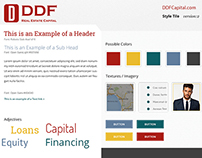 Style Tiles of DDF Capital