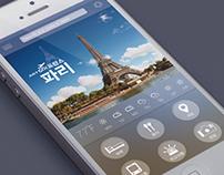 Moblie Travel App for Korean