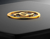 Product Render - Chanel Glass