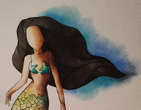 Mermaid Wall Hanging